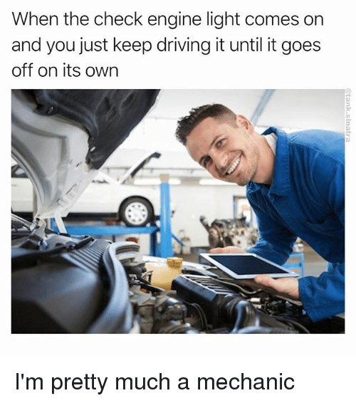 Check Engine Light Goes On And Off