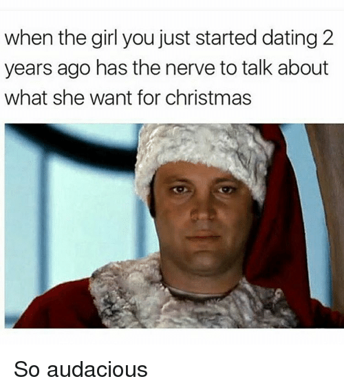 what to buy a girl you just started dating for christmas