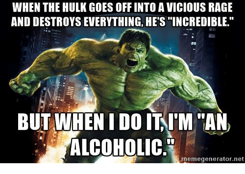 When The Hulk Goes Off Into A Vicious Rage And Destroys Everything