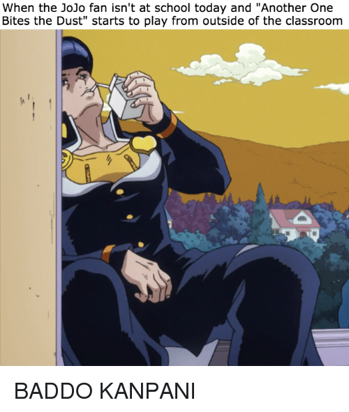 Anime Another One And School When The JoJo Fan Isnt At