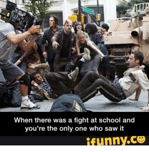 how to avoid a fight at school