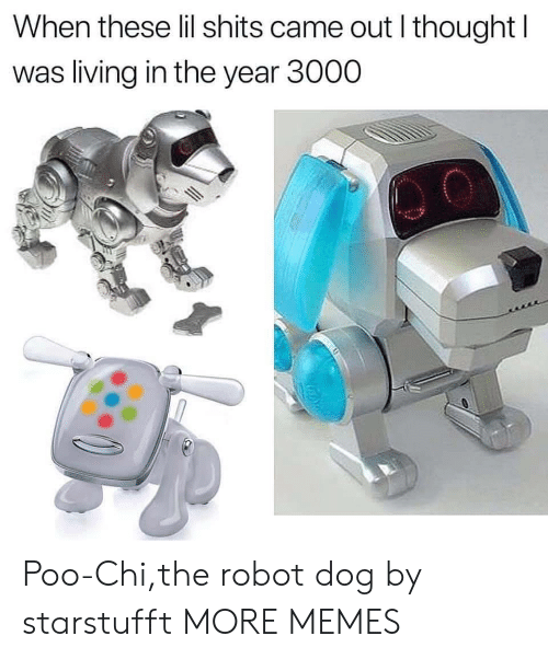 Dank, Memes, and Target: When these lil shits came out l thought I  was living in the year 3000 Poo-Chi,the robot dog by starstufft MORE MEMES