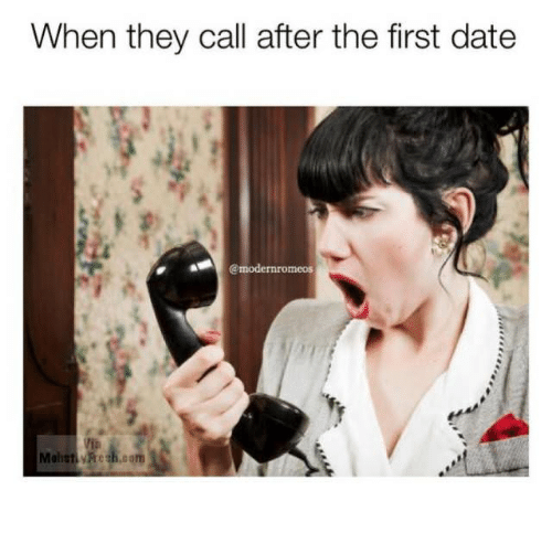 When To Call After A First Date
