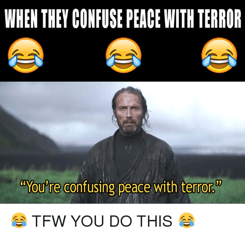 when they confuse peace with terror youre confusing peace with 10550865 when they confuse peace with terror you're confusing peace with