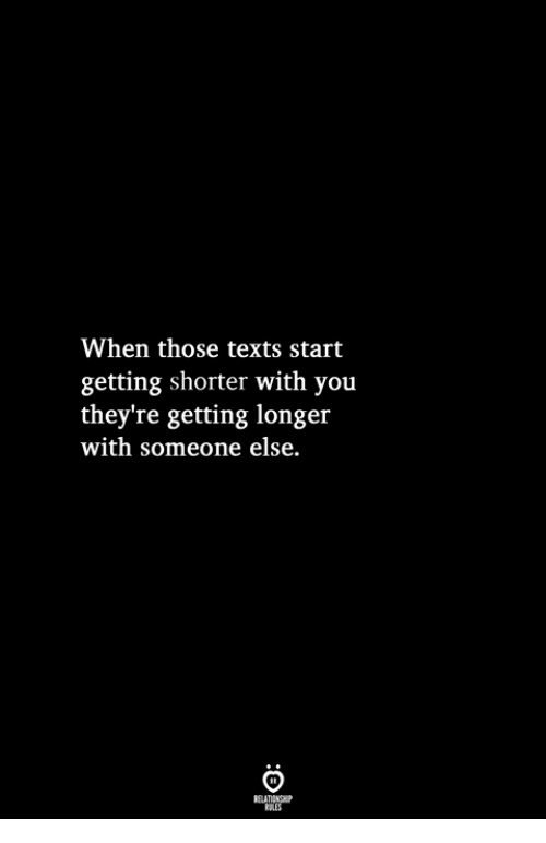 8f5e17a0152 Texts, You, and Someone: When those texts start getting shorter with you  they
