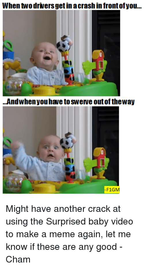 Surprised Baby Meme