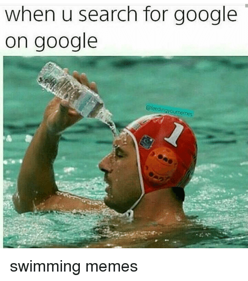 when u search for google on google feedingyourmemes swimming memes 13007597 when u search for google on google swimming memes meme on me me