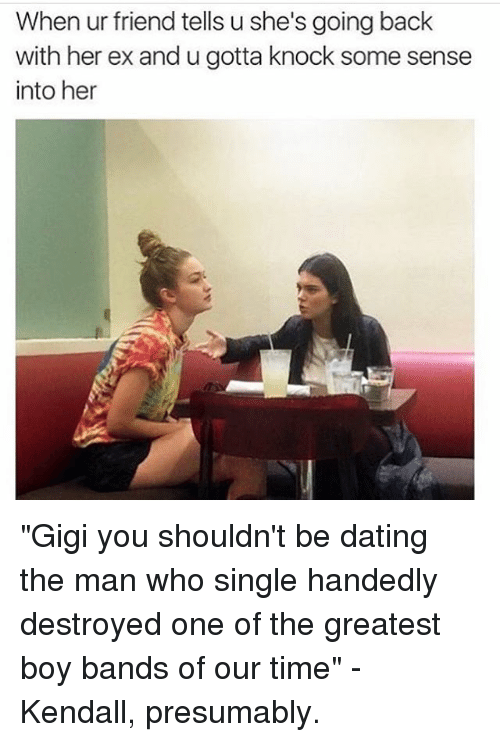 dating back to friends
