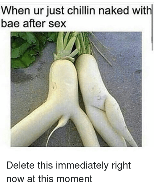 Sex right moment