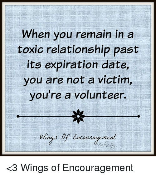 expiration dating relationship