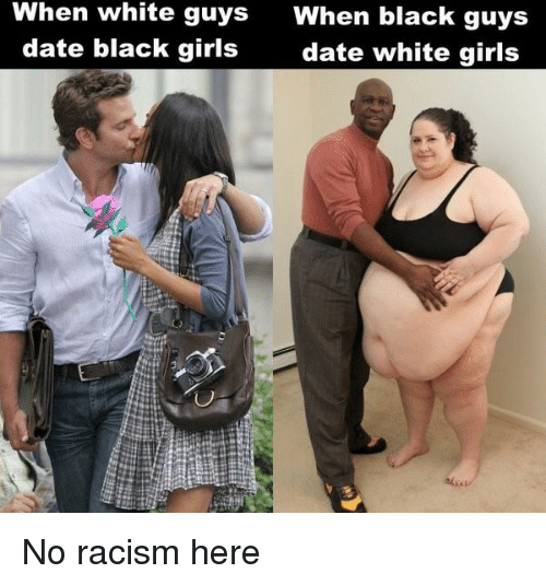 white guy dating a black girl