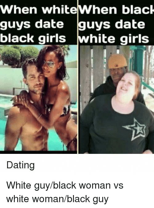 Difference between dating white guys and black guys