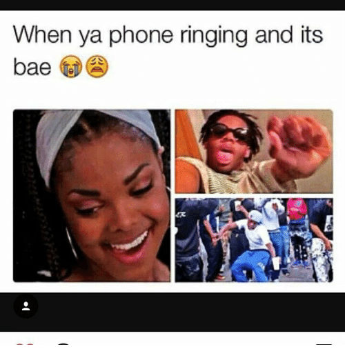 Memes, Phone, and 🤖: When ya phone ringing and its