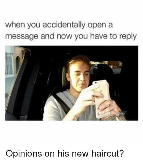 When You Accidentally Open A Message And Now You Have To Reply