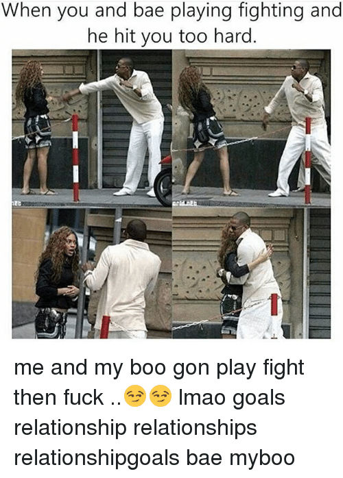 play fighting in relationships