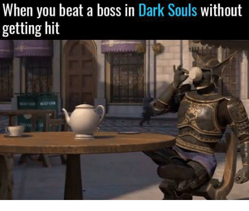 Love Each Other When Two Souls: When You Beat A Boss In Dark Souls Without Getting Hit