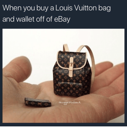 5b4d6dd1e5b9 When You Buy a Louis Vuitton Bag and Wallet Off of eBay ...