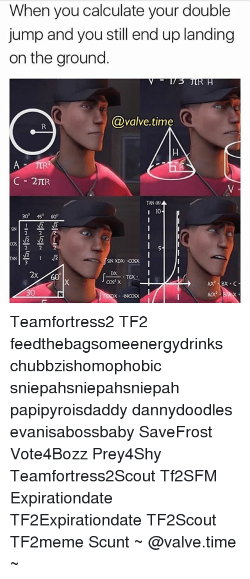when you calculate your double jump and you still end 22829988 ✅ 25 best memes about valve time valve time memes