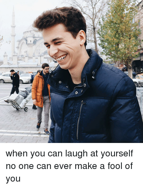 Memes, 🤖, and Make A: when you can laugh at yourself no one can ever make a fool of you