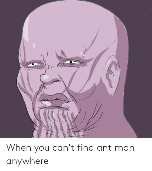 CANT THE ANT AND CAN THE MAN