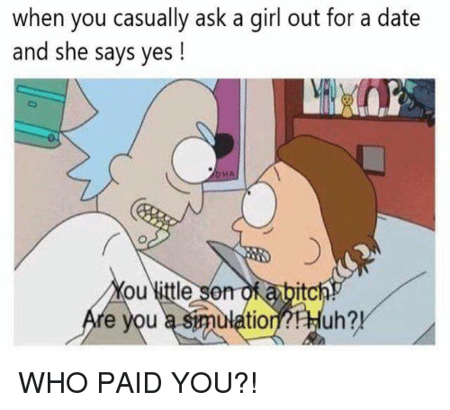 how to casually ask a girl out