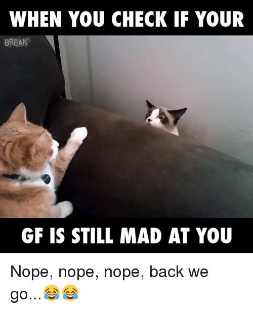 Still Mad At You
