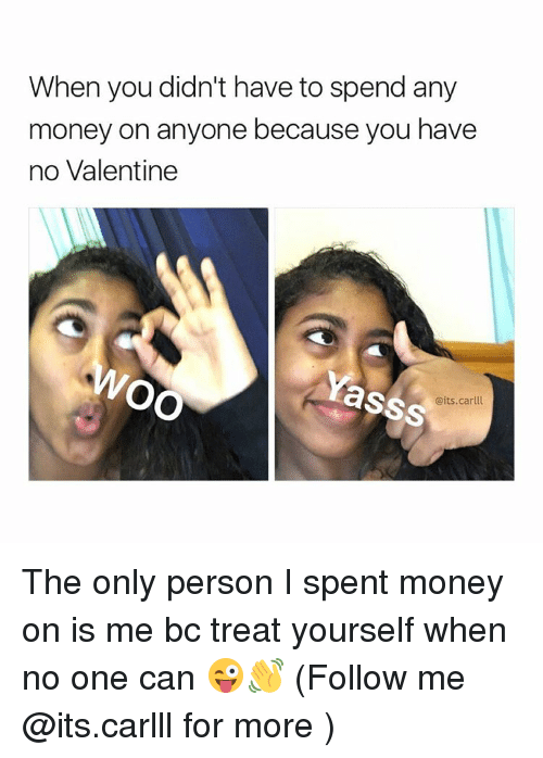 how to spend money on yourself
