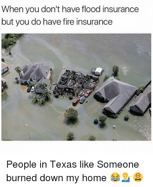 when you dont have flood insurance but you do have 27532892 when you don't have flood insurance but you do have fire insurance