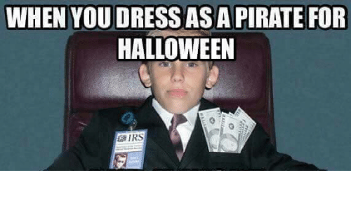 When You Dress As A Pirate For Halloween Halloween Meme On Me Me