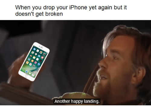 broken iphone meme 25 best memes about another happy landing another happy 4580