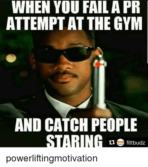 when you fail a pr attemptat the gym and catch 22984489 when you fail a pr attemptat the gym and catch people staring