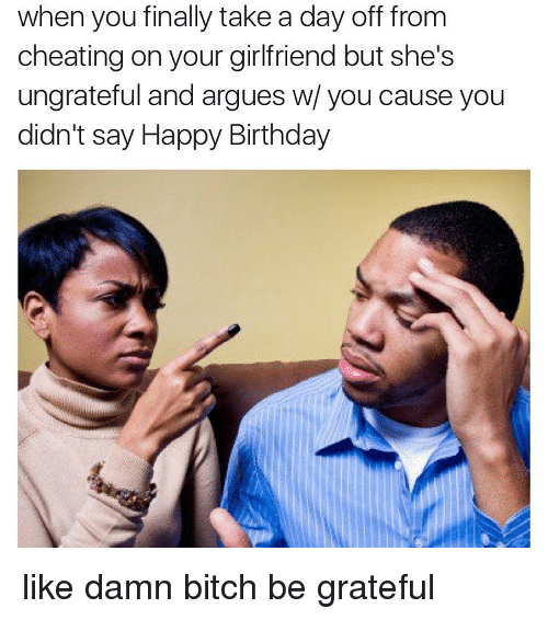 cheating on your girlfriend
