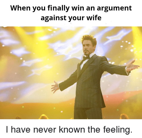 how to win an argument with your wife
