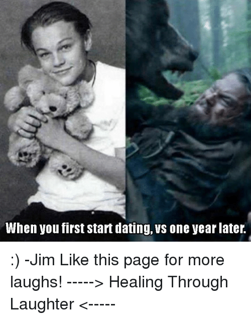 When You First Start Dating vs One Year Later - cybertime.ru