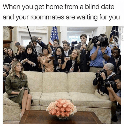 How to get a blind date