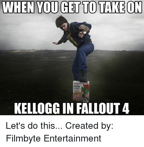 when you get to take on corn flakes kellogg in 8653773 when you get to take on corn flakes kellogg in fallout 4 let's do