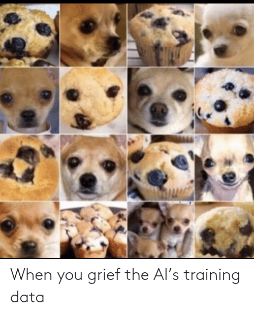 Grief, Data, and You: When you grief the AI's training data