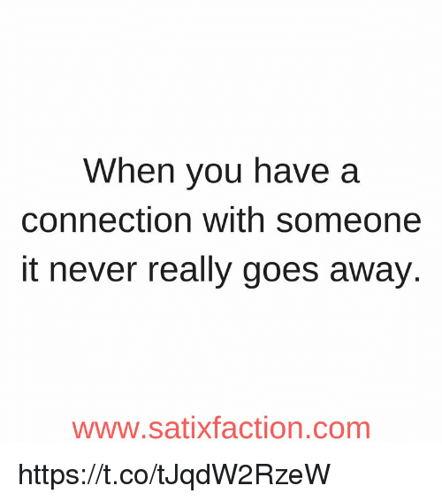how to tell if you have a connection with someone