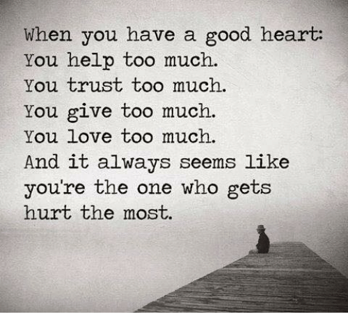i have a good heart