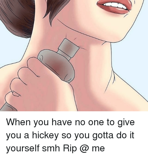 How To Give Yourself A Hickey On The Neck