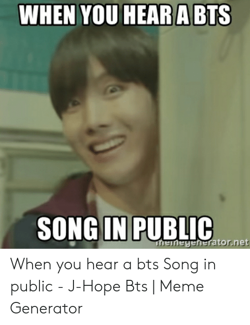WHEN YOU HEARA BTS SONG IN PUBLIC Henegeheratornet When You