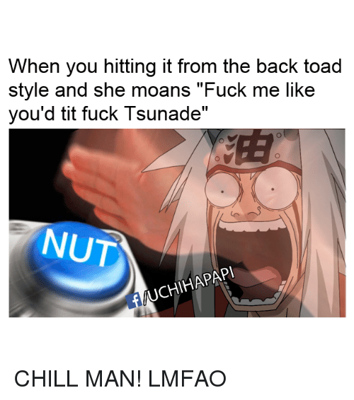 Hitting it from the back