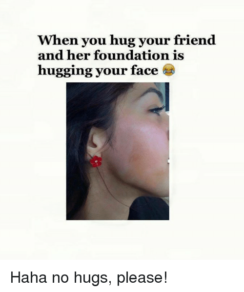 how to hug your friend