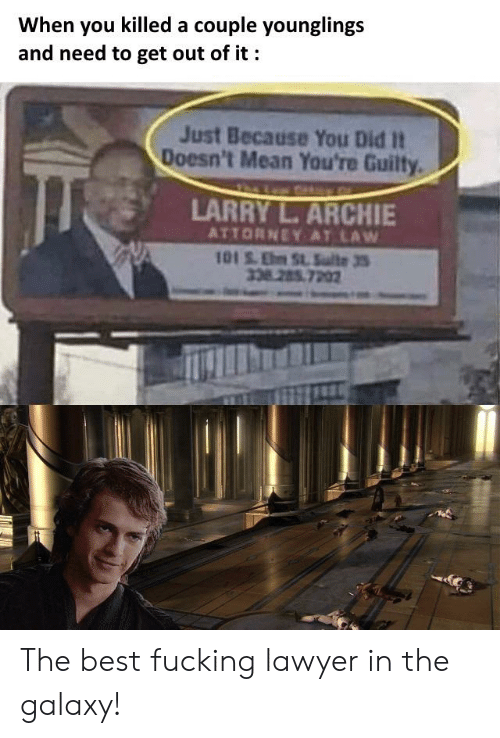When You Killed a Couple Younglings and Need to Get Out of ...