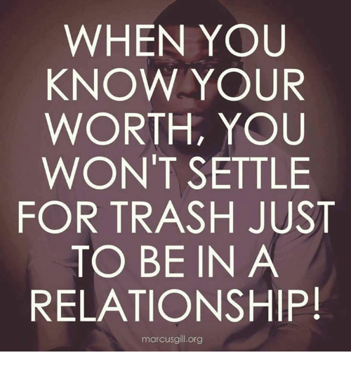 when you settle