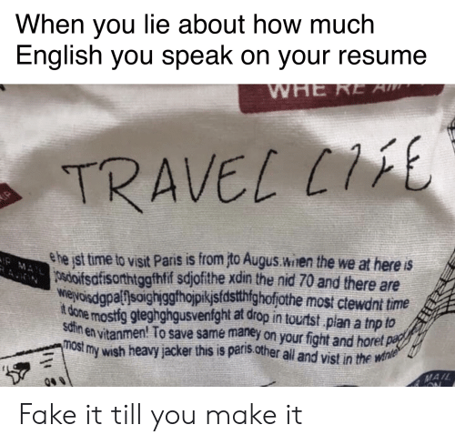 When You Lie About How Much English You Speak On Your Resume
