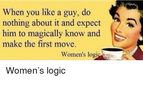 Should women make the first move