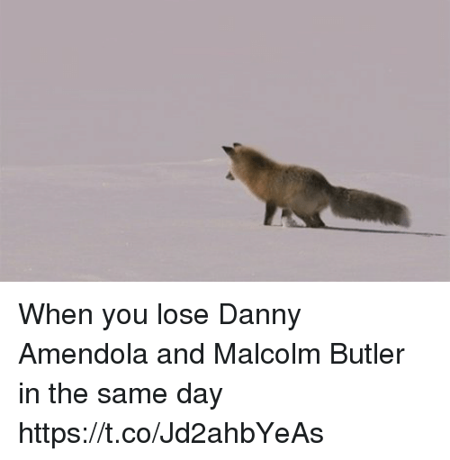 Memes, Danny Amendola, and 🤖: When you lose Danny Amendola and Malcolm Butler in the same day https://t.co/Jd2ahbYeAs