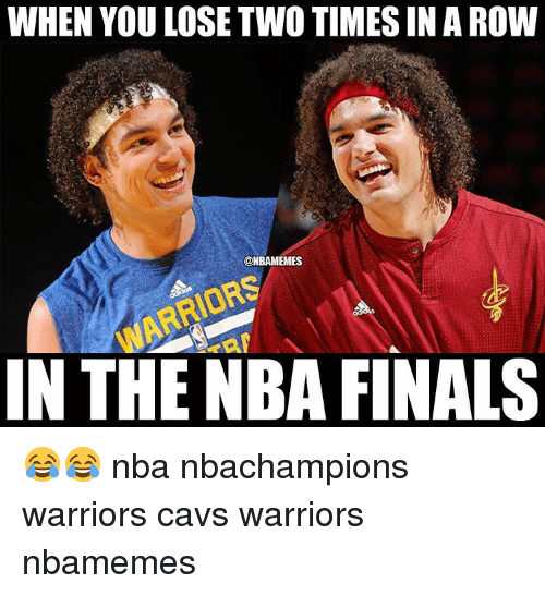 when you lose two timesinarow nbamemes in the nba finals 2874980 when you lose two timesinarow in the nba finals 😂😂 nba