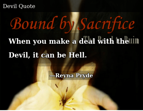 When You Make a Deal With the Devil It Can Be Hell | Donald Trump